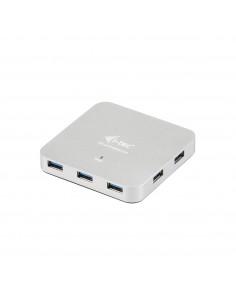 i-tec Metal U3HUBMETAL7 keskitin USB 3.2 Gen 1 (3.1 1) Type-A 5000 Mbit/s Hopea I-tec Accessories U3HUBMETAL7 - 1