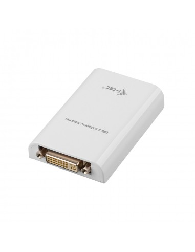 i-tec Advance USB3HDTRIO USB grafiikka-adapteri 2048 x 1152 pikseliä Valkoinen I-tec Accessories USB3HDTRIO - 1