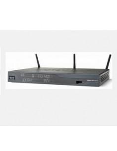 Cisco 867VAE langaton reititin Gigabitti Ethernet Cisco C867VAE-W-E-K9 - 1