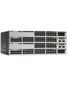 Cisco Catalyst C9300-48P-E verkkokytkin Hallittu L2/L3 Gigabit Ethernet (10/100/1000) Power over -tuki Harmaa Cisco C9300-48P-E