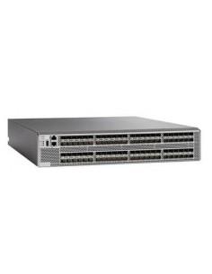 Cisco DS-C9396S-96ESK9 verkkokytkin Hallittu Gigabit Ethernet (10/100/1000) 2U Harmaa Cisco DS-C9396S-96ESK9 - 1