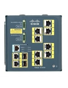 Cisco IE-3000-8TC nätverksswitchar hanterad L2 Fast Ethernet (10/100) Blå Cisco IE-3000-8TC - 1