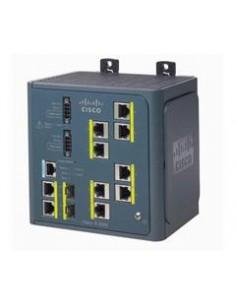 Cisco IE-3000-8TC-E nätverksswitchar hanterad L3 Fast Ethernet (10/100) Svart Cisco IE-3000-8TC-E - 1