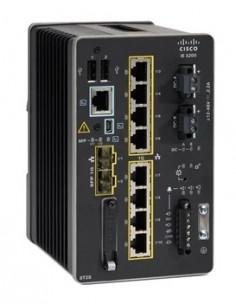Cisco Catalyst IE-3200-8T2S-E verkkokytkin Hallittu L2/L3 Gigabit Ethernet (10/100/1000) Musta Cisco IE-3200-8T2S-E - 1