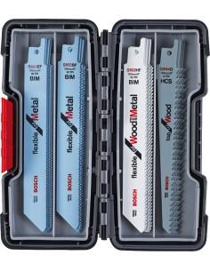 Bosch 2 607 010 902 sågblad till sticksåg, dekupörsåg och tigersåg Sticksågsblad 20 styck Bosch 2607010902 - 1