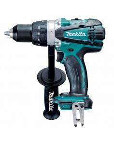 Makita DDF458Z drill 2000 RPM Keyless 2.5 kg Black, Blue Makita DDF458Z - 1