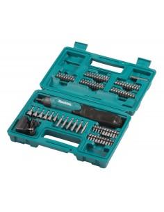 Makita DF001DW sähköruuvimeisseli ja iskuruuvitaltta 220 RPM Musta, Sininen Makita DF001DW - 1