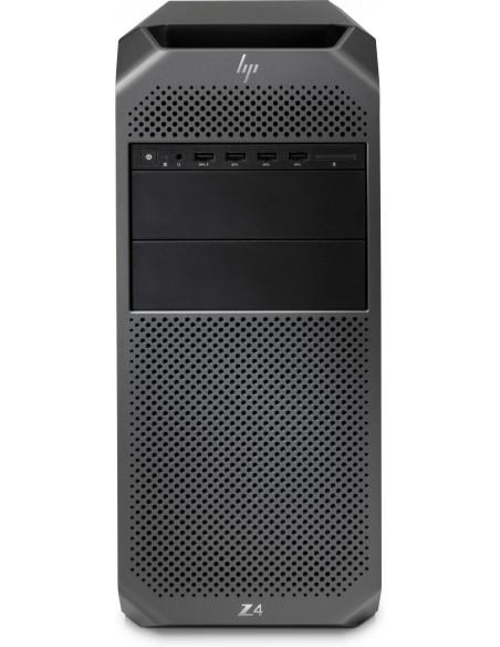 HP Z4 G4 W-2123 Tower Intel Xeon W 32 GB DDR4-SDRAM 512 SSD Windows 10 Pro for Workstations Workstation Black Hp 6QN91EA#UUW - 1