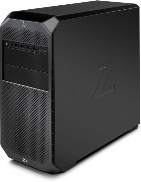 HP Z4 G4 W-2123 Tower Intel® Xeon W 32 GB DDR4-SDRAM 512 SSD Windows 10 Pro for Workstations Työasema Musta Hp 6QN91EA#UUW - 2