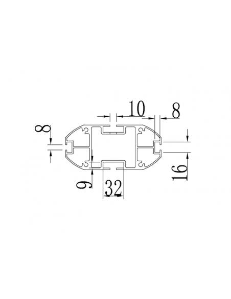 """Multibrackets 5408 fäste för skyltningsskärm 160 cm (63"""") Silver Multibrackets 7350022735408 - 8"""