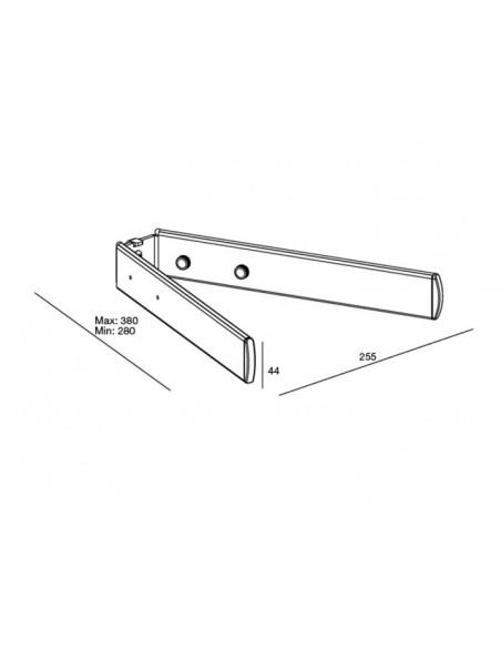 Multibrackets M Public Display Stand Frontshelf Silver Multibrackets 7350022735415 - 5