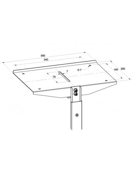 Multibrackets M Public Display Stand Camera Holder Silver Multibrackets 7350022735422 - 4