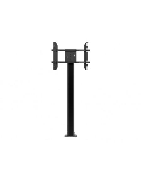 Multibrackets M Public Display Stand Pillar 210 Black, incl. 220V Power Rail Multibrackets 7350022736368 - 4