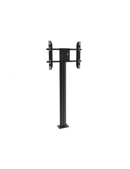 Multibrackets M Public Display Stand Pillar 210 Black, incl. 220V Power Rail Multibrackets 7350022736368 - 6