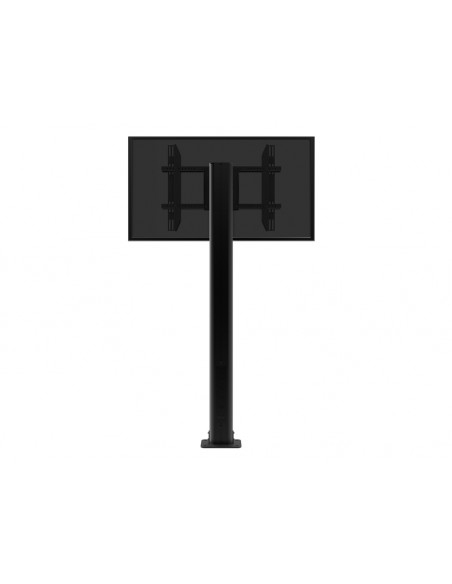 Multibrackets M Public Display Stand Pillar 210 Black, incl. 220V Power Rail Multibrackets 7350022736368 - 8