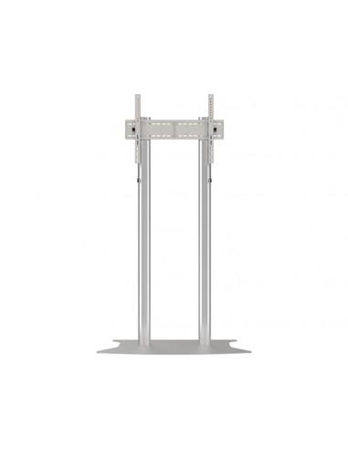 Multibrackets M Public Display Stand 210 Dual Pillar Floorbase Silver Multibrackets 7350073732562 - 1