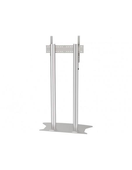 Multibrackets M Public Display Stand 210 Dual Pillar Floorbase Silver Multibrackets 7350073732562 - 4