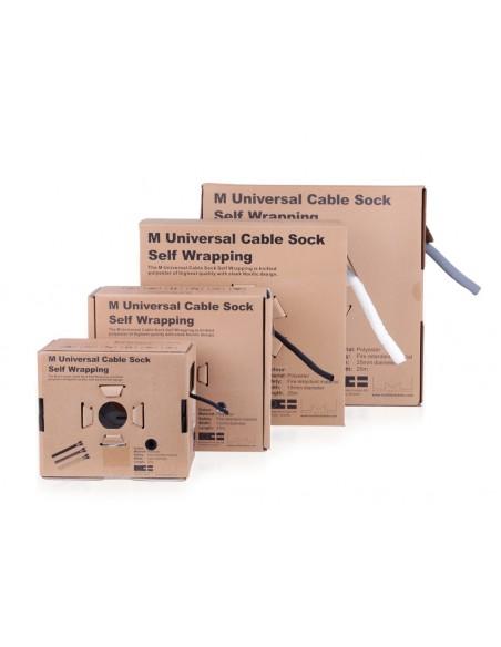 Multibrackets 3224 kabelsamlare Kabelstrumpa Vit 1 styck Multibrackets 7350073733224 - 8