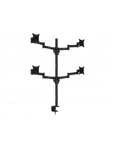"""Multibrackets 5891 monitorin kiinnike ja jalusta 76.2 cm (30"""") Puristin/Läpipultattu Musta Multibrackets 7350073735891 - 1"""