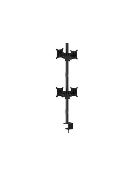 """Multibrackets 5907 monitorin kiinnike ja jalusta 76.2 cm (30"""") Puristin/Läpipultattu Musta Multibrackets 7350073735907 - 3"""
