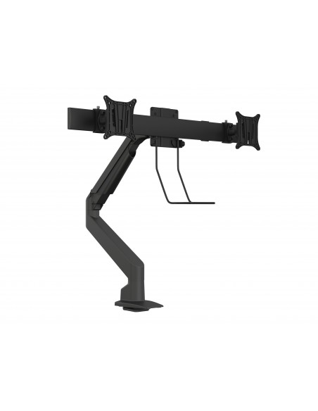 Multibrackets M VESA Gas Lift Arm Single Black w. Duo Crossbar Multibrackets 7350073735921 - 1