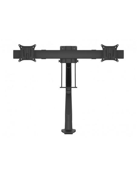 Multibrackets M VESA Gas Lift Arm Single Black w. Duo Crossbar Multibrackets 7350073735921 - 2
