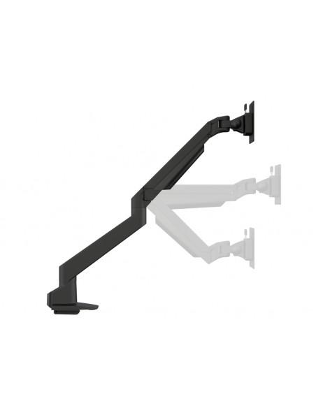 Multibrackets M VESA Gas Lift Arm Single Black w. Duo Crossbar Multibrackets 7350073735921 - 9