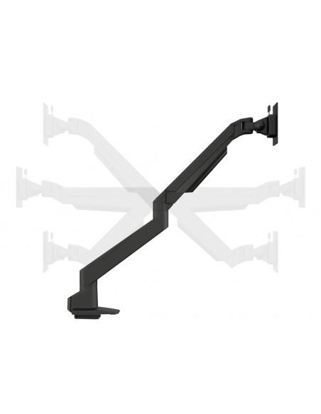 Multibrackets M VESA Gas Lift Arm Single Black w. Duo Crossbar Multibrackets 7350073735921 - 10