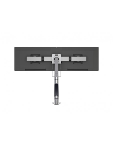 Multibrackets M VESA Gas Lift Arm Single Silver w. Duo Crossbar Multibrackets 7350073735938 - 7
