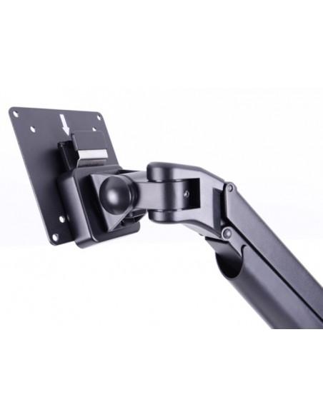 Multibrackets M VESA Gas Lift Arm Single Silver w. Duo Crossbar Multibrackets 7350073735938 - 15