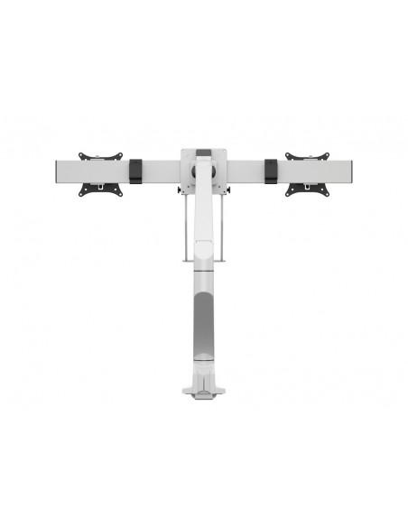 Multibrackets M VESA Gas Lift Arm Single White w. Duo Crossbar Multibrackets 7350073735945 - 4