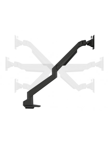 Multibrackets M VESA Gas Lift Arm Single White w. Duo Crossbar Multibrackets 7350073735945 - 10