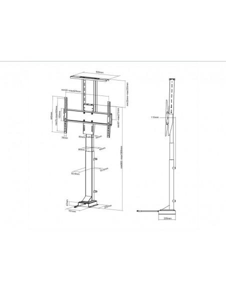 Multibrackets M Motorized TV Lift Large Multibrackets 7350073735969 - 7