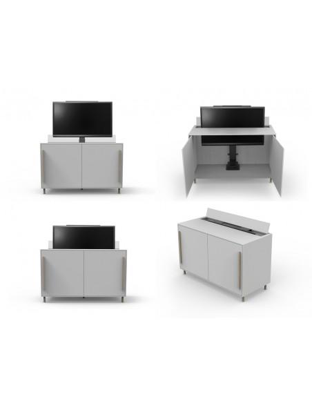 """Multibrackets 5969 TV-kiinnike 165.1 cm (65"""") Musta Multibrackets 7350073735969 - 10"""