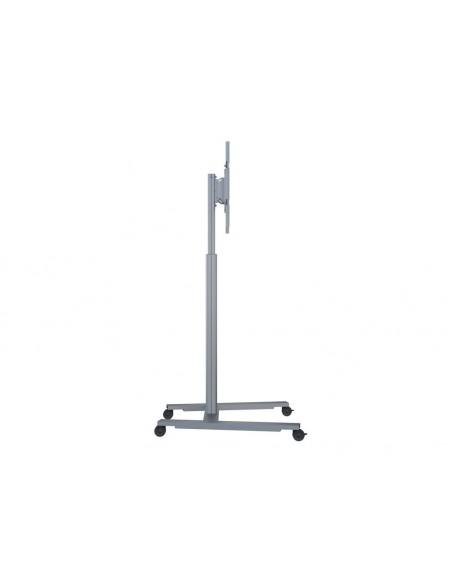 Multibrackets M Motorized Display Stand Wheelbase Silver Multibrackets 7350073736096 - 5