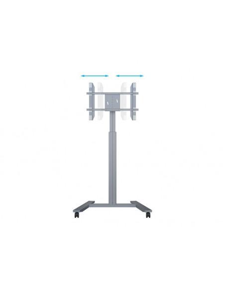 Multibrackets M Motorized Display Stand Wheelbase Silver Multibrackets 7350073736096 - 17