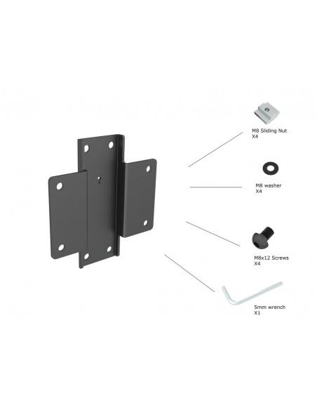 Multibrackets 6119 tillbehör till bildskärmsfäste Multibrackets 7350073736119 - 2