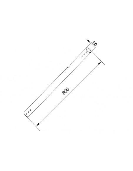 Multibrackets 6140 tillbehör till bildskärmsfäste Multibrackets 7350073736140 - 2
