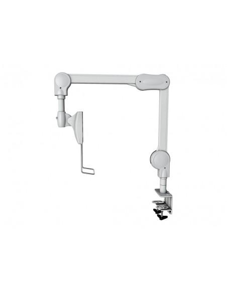 """Multibrackets 8816 monitorin kiinnike ja jalusta 68.6 cm (27"""") Puristin/Läpipultattu Valkoinen Multibrackets 7350073738816 - 2"""