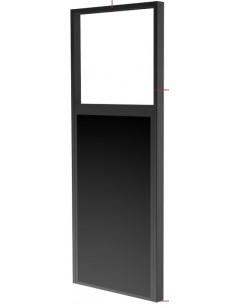 """Peerless DS-OM46ND-CEIL kyltin näyttökiinnike 139.7 cm (55"""") Musta Peerless DS-OM46ND-CEIL - 1"""