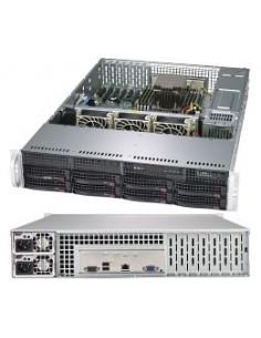 Supermicro A+ Server 2013S-C0R Intel® SoC Socket SP3 Teline ( 2U ) Musta Supermicro AS-2013S-C0R - 1
