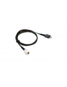 Supermicro CBL-SAST-0972 cable gender changer OCuLink SFF-8611 MiniSAS HD SFF-8643 Svart Supermicro CBL-SAST-0972 - 1