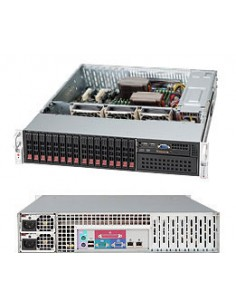 Supermicro SuperChassis 213A-R740LPB Rack Black 740 W Supermicro CSE-213A-R740LPB - 1