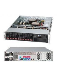 Supermicro SuperChassis 213A-R740LPB Ställning Svart 740 W Supermicro CSE-213A-R740LPB - 1