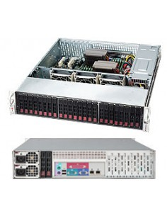 Supermicro 216BAC-R920LPB Rack Black 920 W Supermicro CSE-216BAC-R920LPB - 1