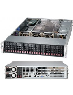 Supermicro 216BE2C-R920WB Rack Black 920 W Supermicro CSE-216BE2C-R920WB - 1