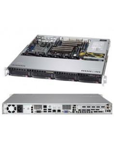 Supermicro CSE-813MFTQC-505CB computer case Rack Black 500 W Supermicro CSE-813MFTQC-505CB - 1