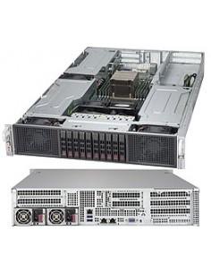 Supermicro Super Server 2029GP-TR Intel® C621 LGA 3647 (Socket P) Rack (2U) Svart Supermicro SYS-2029GP-TR - 1