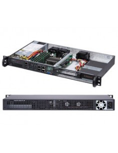 Supermicro SuperServer 5019A-FTN4 Intel® SoC BGA 1310 Teline ( 1U ) Musta Supermicro SYS-5019A-FTN4 - 1