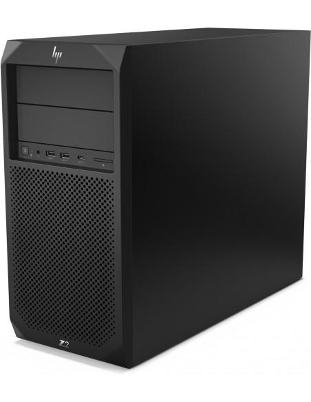 HP Z2 G4 9. sukupolven Intel® Core™ i7 i7-9700K 16 GB DDR4-SDRAM 256 SSD Tower Musta Työasema Windows 10 Pro Hp 6TW97EA#UUW - 5